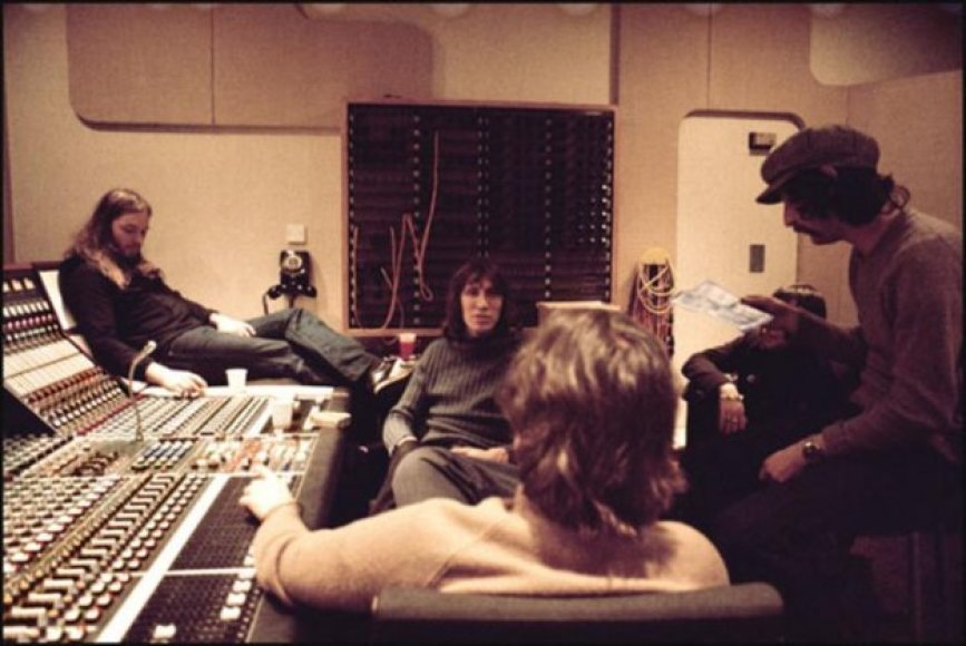 """Pink Floyd"" studijoje"