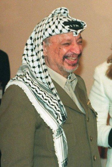 Palestinos lyderis Yasseras Arafatas 1994-aisiais