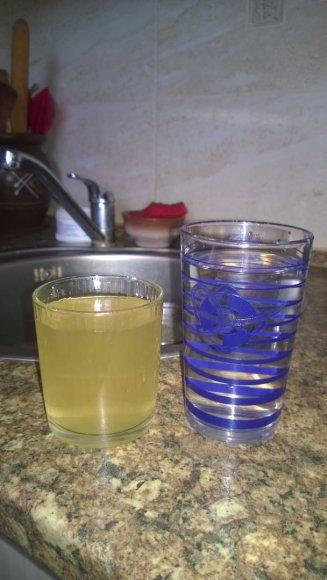 Nešvarus vandentiekio vanduo Šakiuose