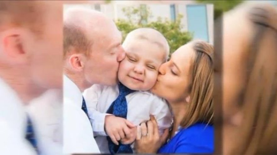 Nuo leukemijos mirštančiam berniukui Kalėdos buvo surengtos spalio vidury.