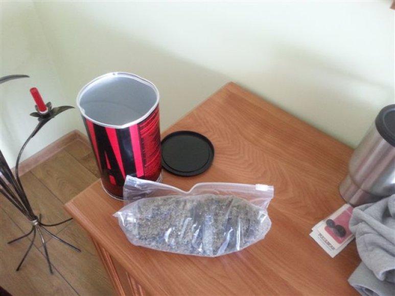 Narkotikai, rasti šilališkio namuose