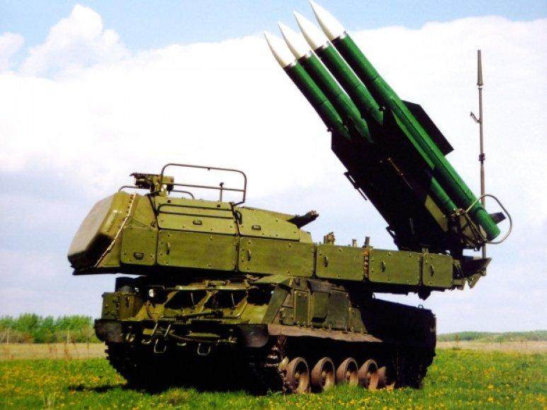 """Zenitinis raketinis kompleksas """"Buk"""""""