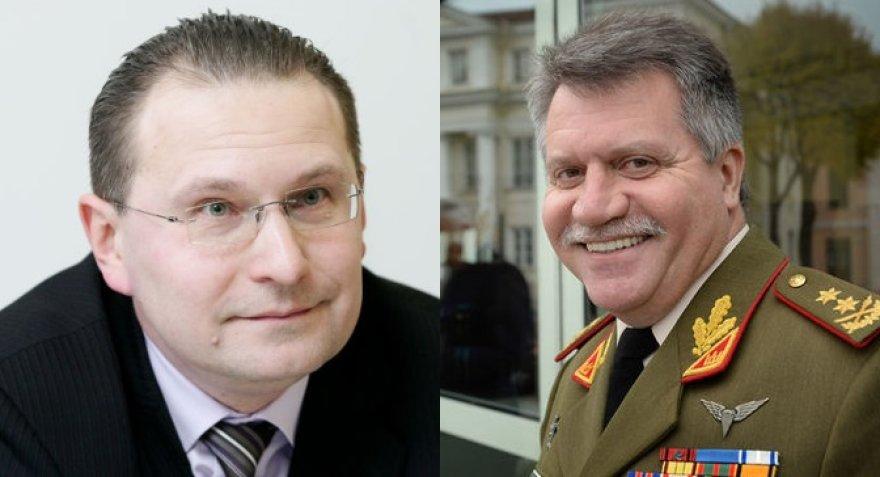 Dainius Žalimas ir Jonas Vytautas Žukas