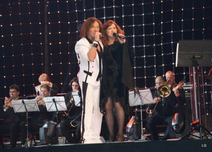 Valerijus Leontjevas ir Birutė Petrikytė
