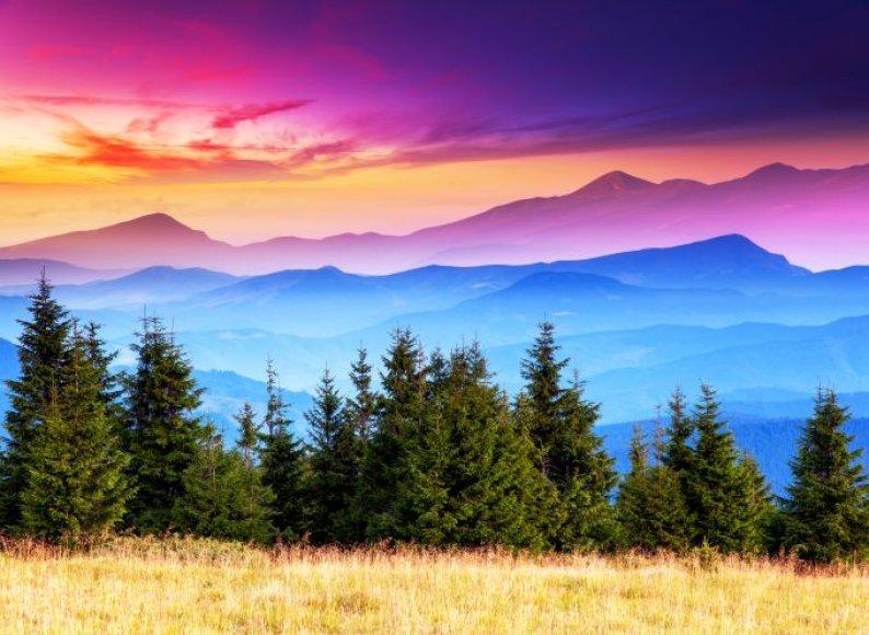 Kalnų kraštovaizdis