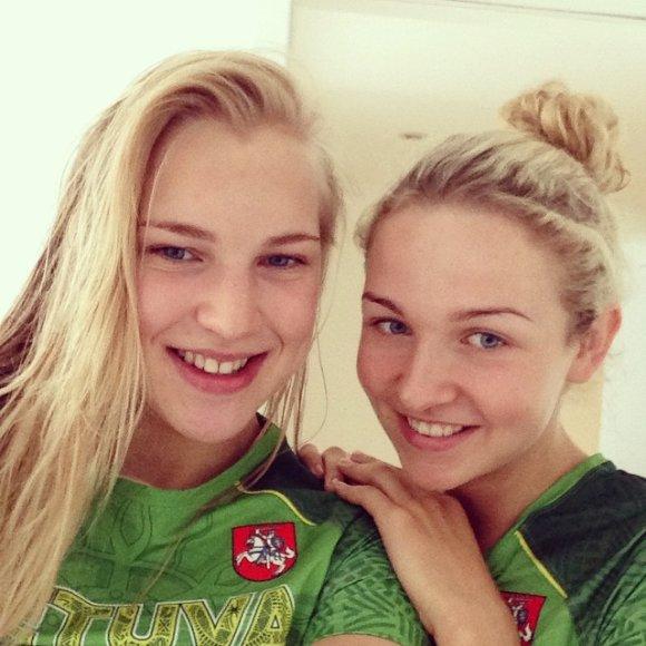 Rūta Meilutytė ir Aurelija Tamašauskaitė