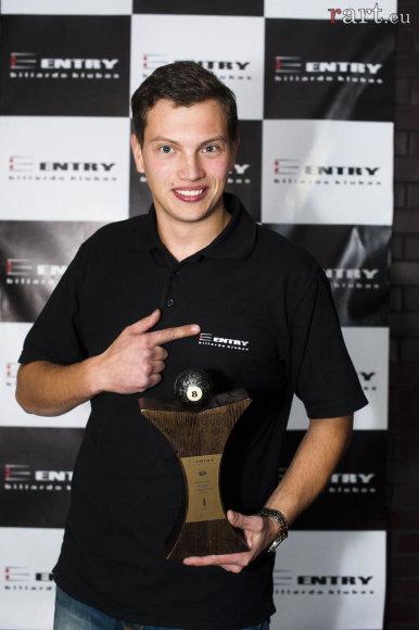Pulo mėgėjų čempionas Andrius Romaneckas