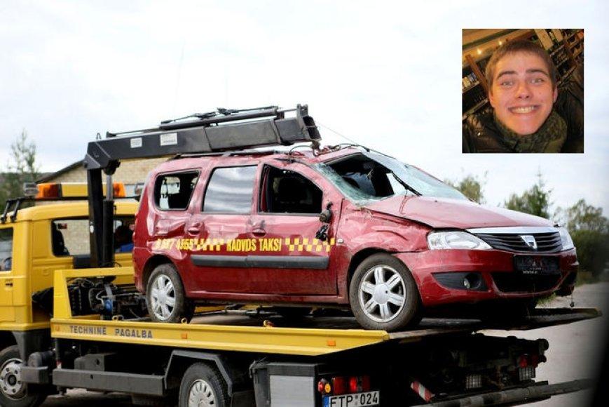 Justinas Maciulevičius (nuotr.) įtariamas nužudęs šio taksi vairuotoją