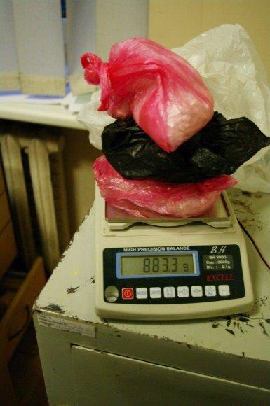 Per operaciją rastos narkotinės medžiagos