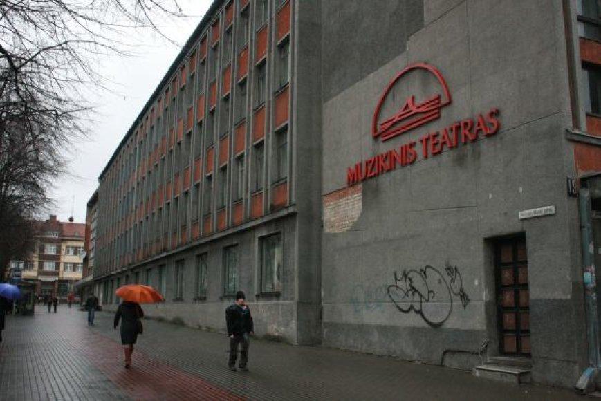 Klaipėdos muzikinis teatras jau seniai nebėra miesto puošmena.