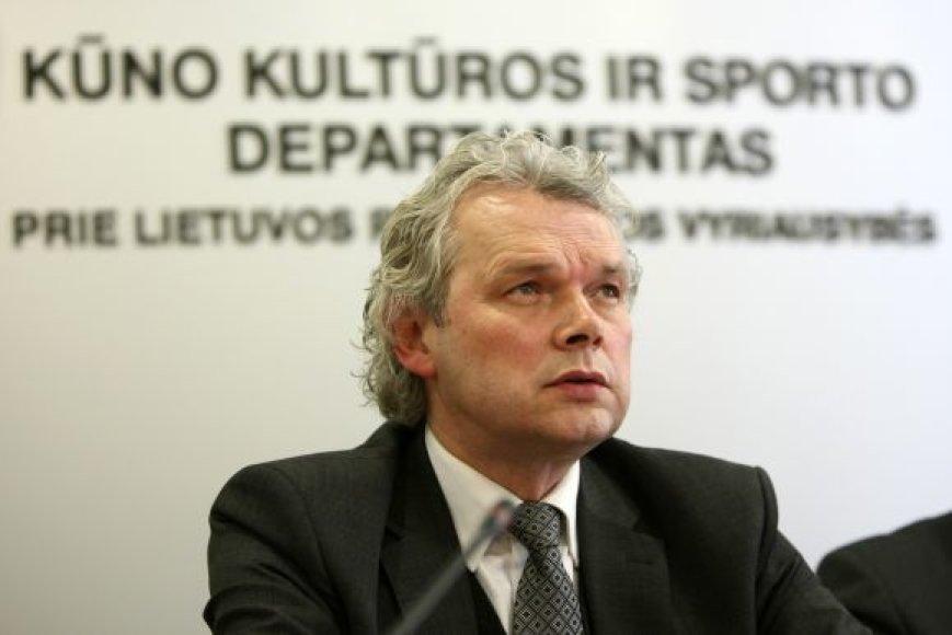 KKSD generalinis direktorius Klemensas Rimšelis