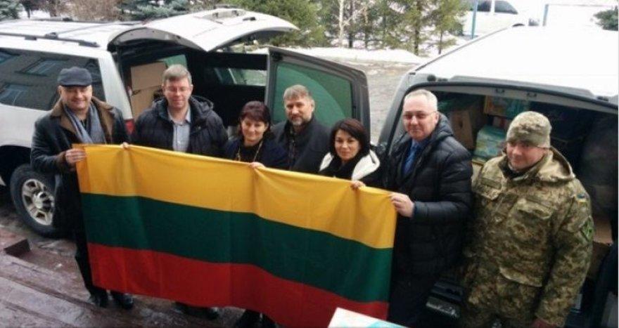 Ukrainos Luhansko regionui perduota lietuvių bendruomenės surinkta parama.