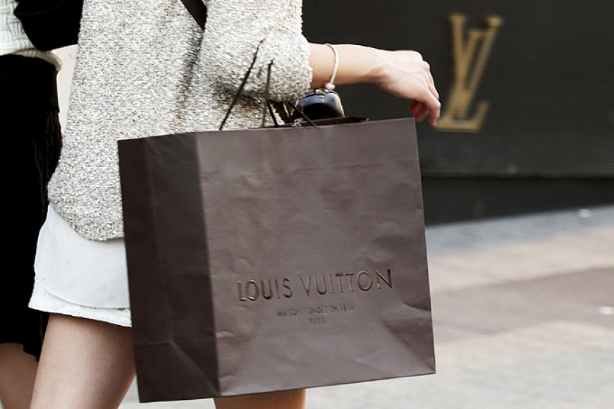 """""""Louis Vuitton"""" prekinis ženklas"""
