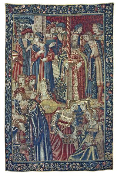 Gobelenas RŪMŲ GYVENIMAS, Pietu Nyderlandai (Briuselis arba Turne), apie 1520 m