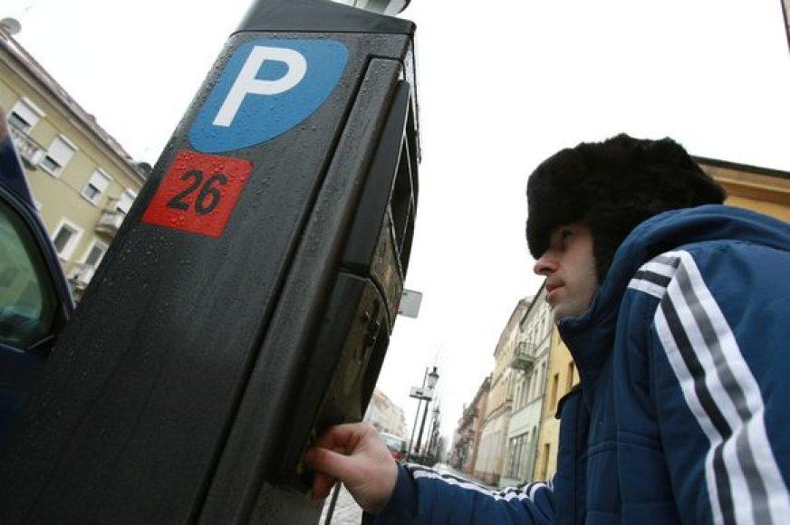 Siūloma mažinti automobilių rezervavimo kainą mėnesiui.