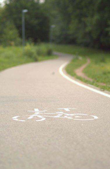 Geresnės sąlygos dviratininkams mažina miestų oro taršą.