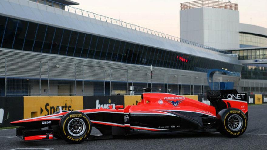 """Marussia MR02"" bolidas"