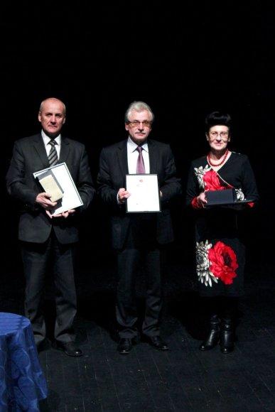 Apdovanoti geriausieji Alytaus regione.  Giedrės Nalivaikaitės nuotr.