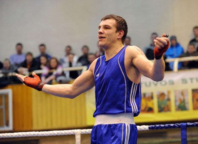 Vitalijus Subačius – 16-a kartų Lietuvos bokso čempionas