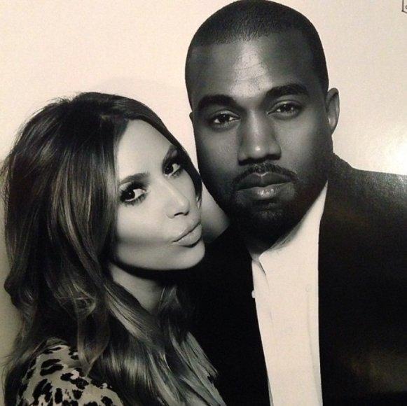 Kim Kardashian ir Kanye Westas per Kūčias
