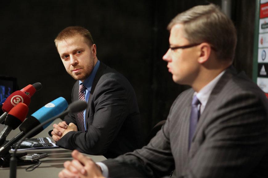 Paulius Motiejūnas ir Andrius Kupčinskas