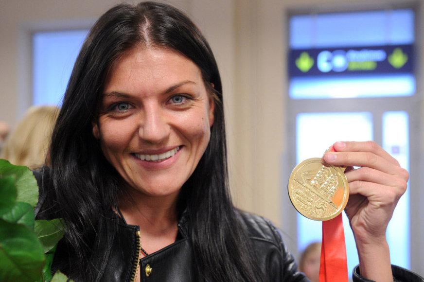 Laimėjusi Hamburgo maratoną, Diana Lobačevskė sugrįžo į Lietuvą