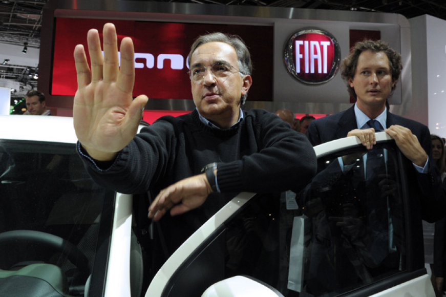 """""""Fiat"""" vadovas Sergio Marchionne"""
