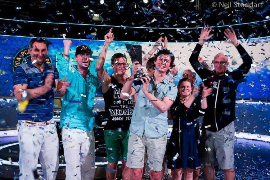 Dominiko Pankos triumfas PCA turnyre