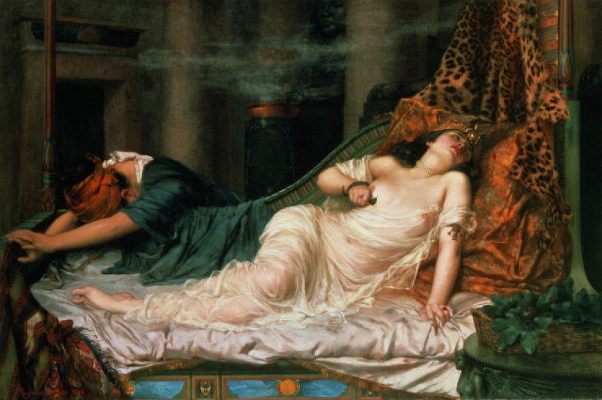 Kleopatros mirtis