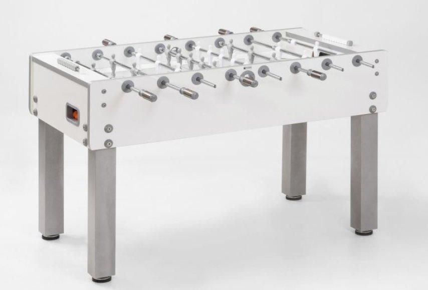 """Stalo futbolo stalas """"Garlando G-500 Pure White"""""""