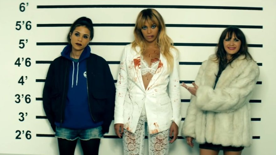 "Kidada Jones, Beyonce ir Rashida Jones koncertinio turo ""On the Run"" reklamoje"