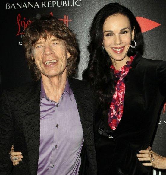 Mickas Jaggeris ir L'Wren Scott 2013-aisiais