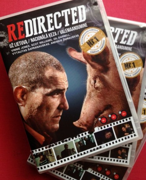 """Redirected"" DVD filmas"