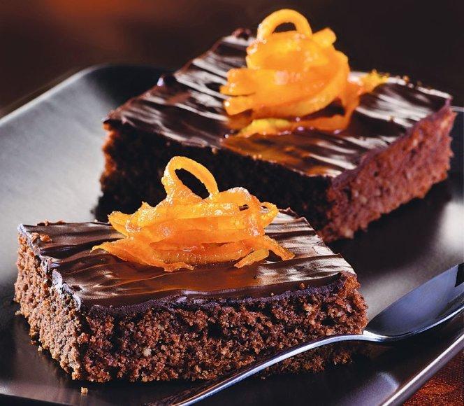 Šokoladinis pyragas su apelsinais