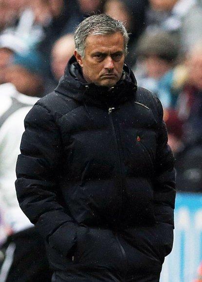 """Chelsea"" treneris Jose Mourinho"