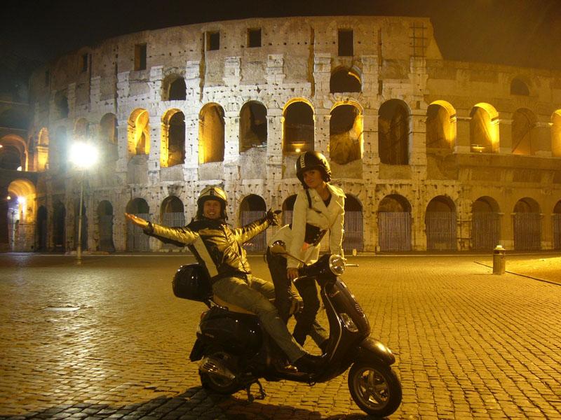 Foto naujienai: Linas Karalius ir Gintarė Gurevičiūtė Romoje