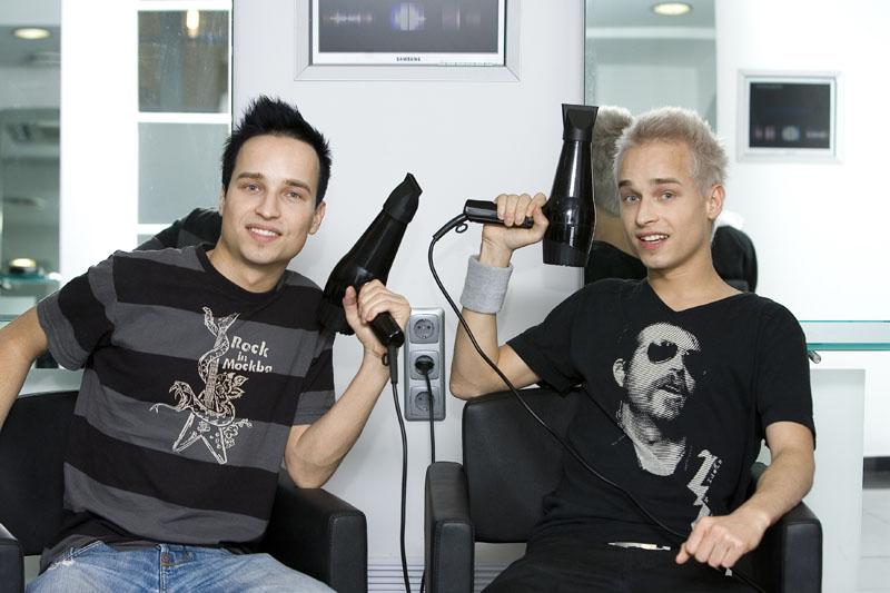 Foto naujienai: Artūras ir Robertas Mediuškos – pasikeitę MTV dvyniai