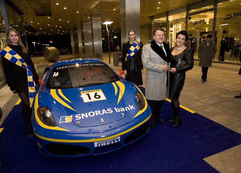 """Foto naujienai: Banko """"Snoras"""" Kalėdos su """"Ferrari"""""""