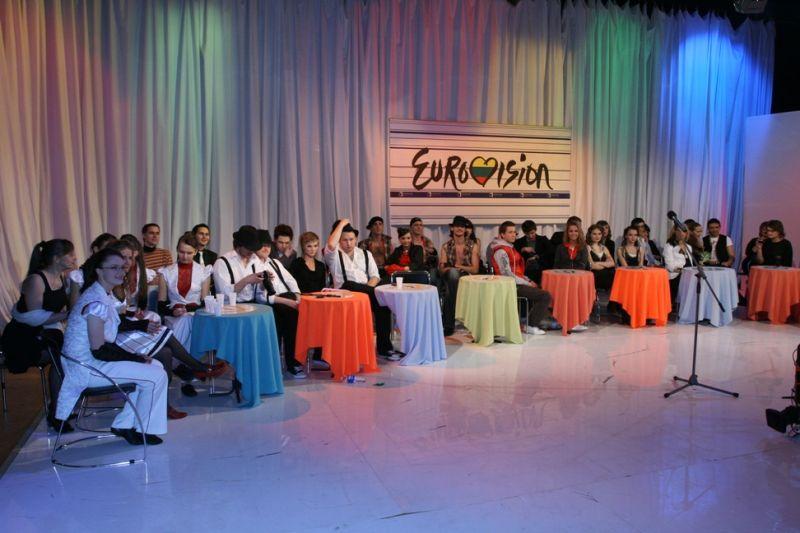 """Foto naujienai: """"Eurovizijos"""" atrankos užkulisai"""