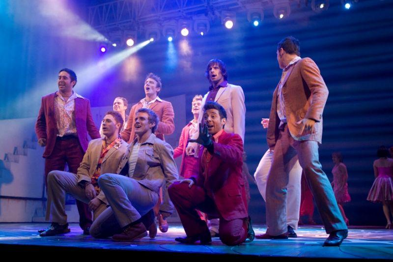 """Foto naujienai: Žvaigždės savaitgalį traukė į miuziklą """"Mamma Mia!"""""""