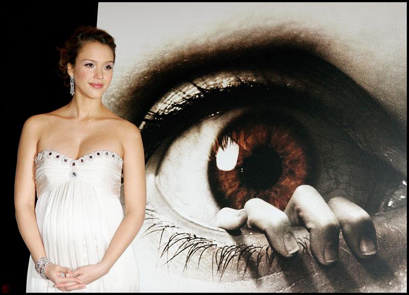 """Foto naujienai: Jessica Alba pristato filmo """"The Eye"""" premjerą"""