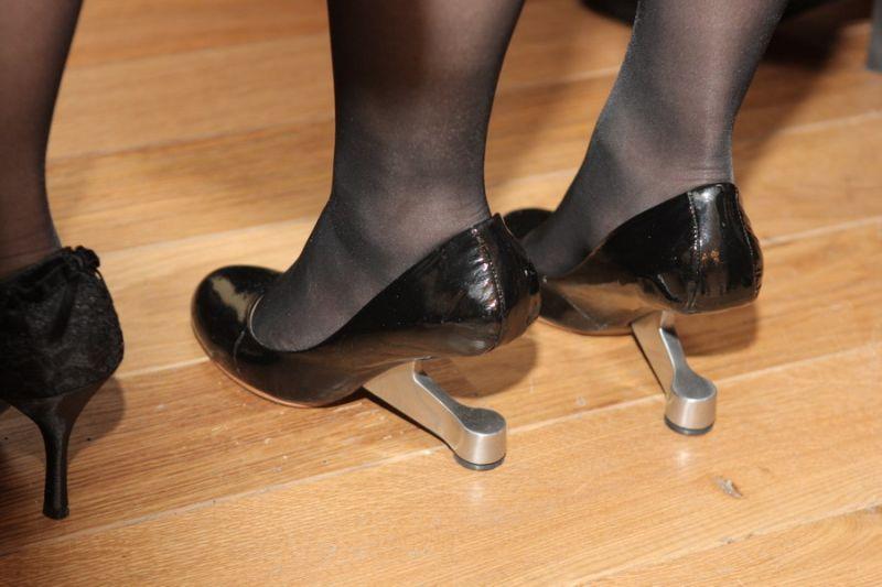 Foto naujienai: Liubovės Čaplikienės egzotiškieji batai