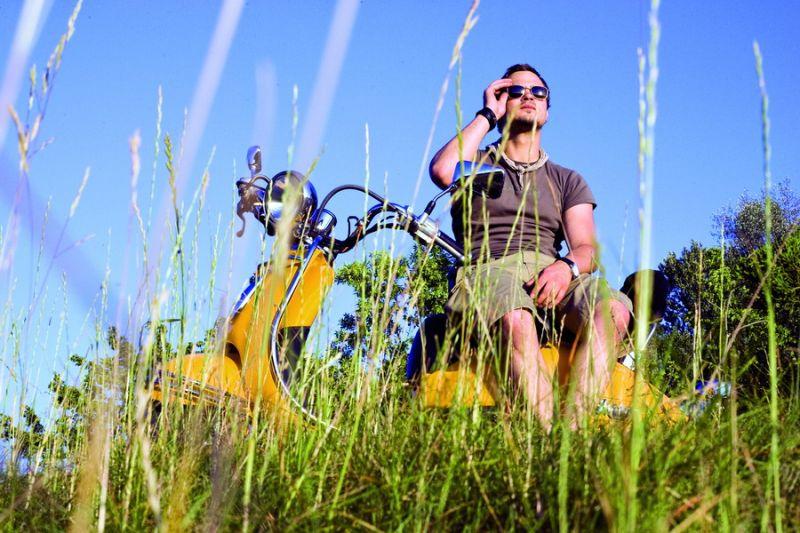 Foto naujienai: Leonardas Pobedonoscevas: kur dingo motoroleris?