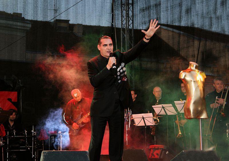 """Grupės """"Antis"""" lyderis Algirdas Kaušpėdas"""