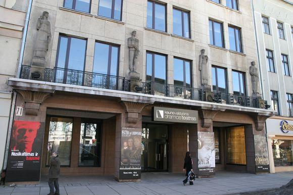 Kauno valstybinis dramos teatras remontus tikisi pabaigti iki jubiliejinio sezono.