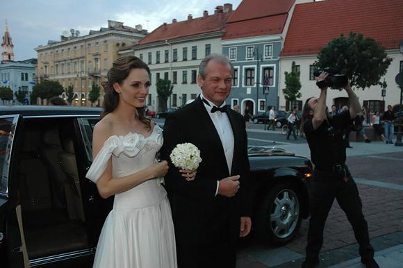 L.Pinkevičius ir A.Valentaitė