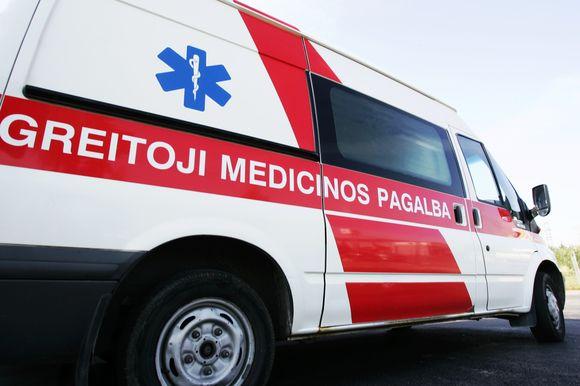 Greitosios medicinos pagalbos automobilis
