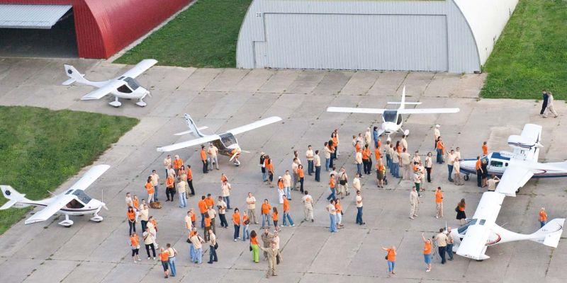 D.Liekis dažnai organizuoja renginius Aleksoto aerodrome, kuriuose susirenka minios žmonių.