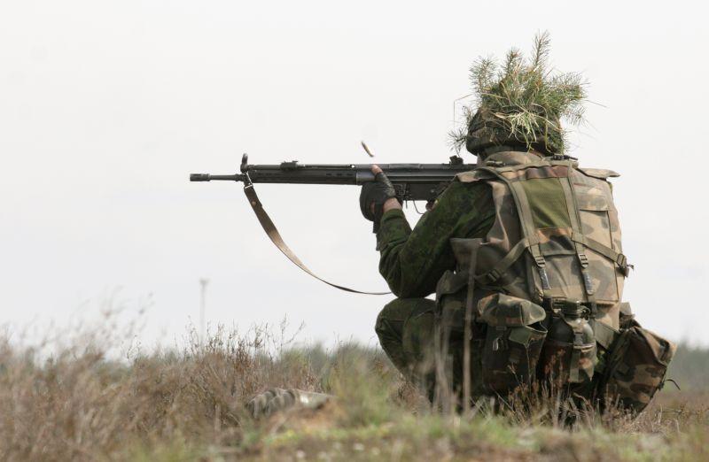Net 91 proc. lenkų mano, kad šaliai reikalinga profesionali kariuomenė.