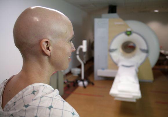 Vėžiu sergantis pacientas